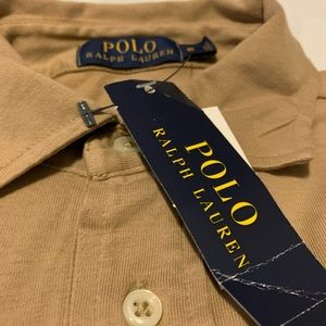 New Polo Ralph Lauren cotton long sleeve polo